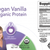 Insulite Health Organic Vegan Vanilla Protein Poweder Label