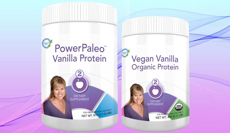 Power Paleo Vanilla Protein and Vegan Vanilla Organic Protein